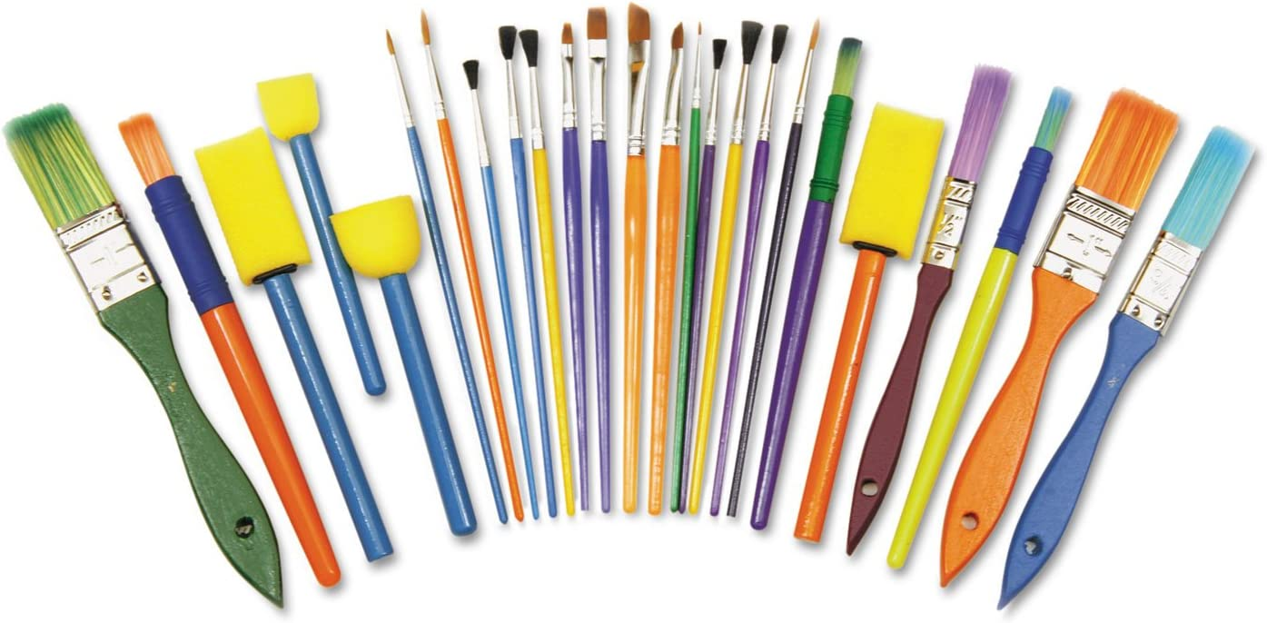 Creativity Street 5180 Starter Brush Kansas City Mall Assorted Sizes Set Colors Selling and selling