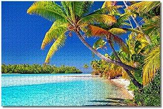 LFNSTXT Cooköarna en fot ö pussel för vuxna barn 500 delar träpusselspel för gåvor heminredning speciella reseminnar