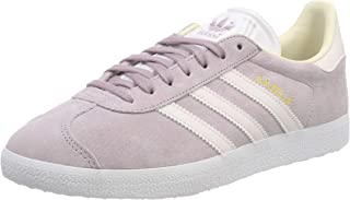 adidas Womens Gazelle Nubuck Soft Vision Orchid Trainers 6 US