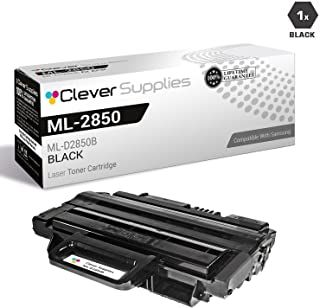 CS Compatible Toner Cartridge Replacement for Samsung ML-2850 ML-D2850B Black ML-2850 ML-2850D ML-2850DR ML-2851ND ML-2851NDL ML-2851NDR
