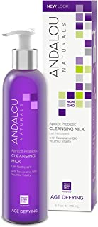 Andalou Naturals Apricot Probiotic Cleansing Milk 6 Ounce