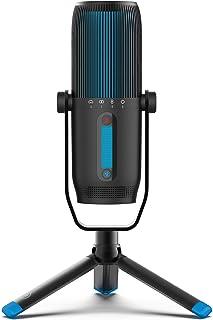 JLab Audio Talk Pro Microfono Pc Plug and Play, Resolución de Calidad Profesional - Microfono USB con 4 Modos de Patrón Di...