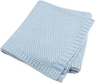 Newborn Baby Blanket Infant Cotton Knitted Crochet Blankets