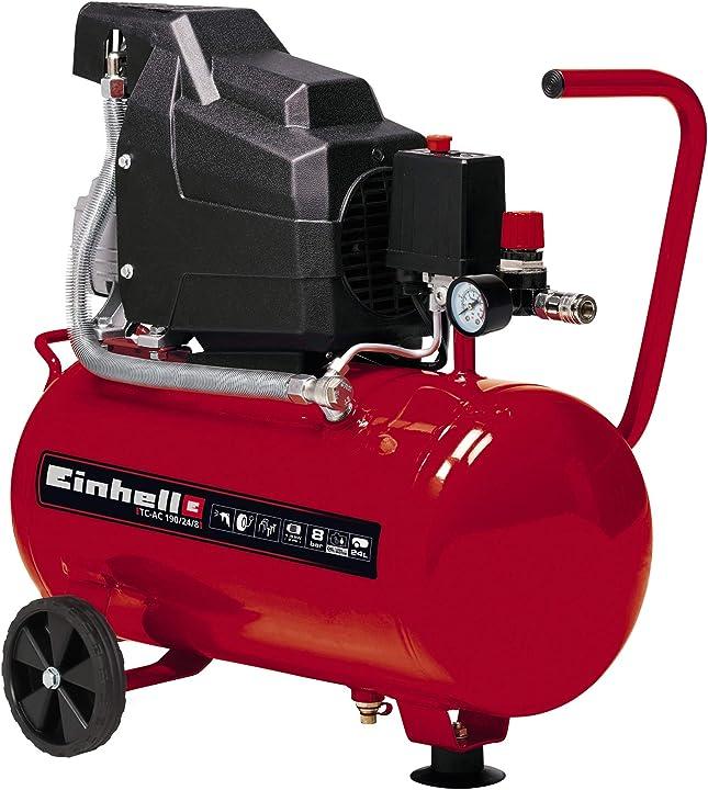 Compressore 1500 w 230 v rosso einhell tc-ac 190/24/8 4007325