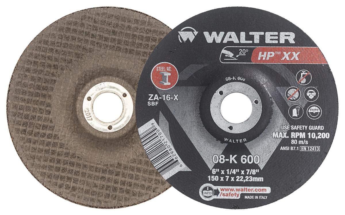 Walter 08K700 HP XX Grinding Wheel - Cheap 7 A-16-X 25 of Grit Free Shipping Cheap Bargain Gift Pack