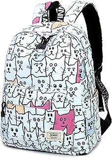 """Joymoze Girl Cute School Backpack Fit for 15.6"""" Laptop Children Bookbag"""