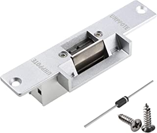UHPPOTE Electric Strike Door Lock Fail-Secure for Access Control System Deadlatches or Cylindrical Locksets