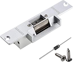 UHPPOTE Electric Strike Fail Secure NO Mode Lock a Part For Access Control Wood Metal Door