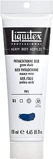 Liquitex Professional Heavy Body Acrylic Paint, 4.65-oz Tube, Phthalocyanine Blue (Green Shade)