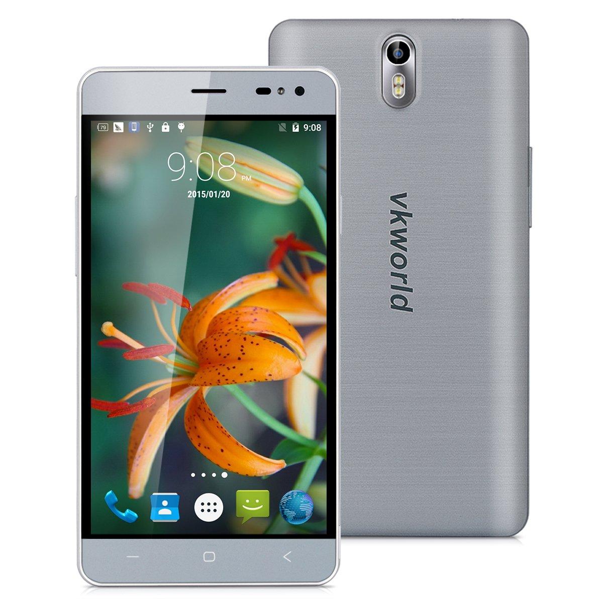 VKWorld G1-4G LTE Smartphone Libre Multitáctil Android 5.1 ...