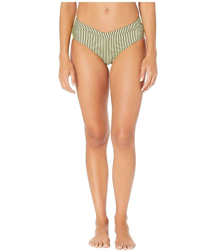 Seafolly Go Overboard Retro V Front Bikini Bottoms (Limelight) Women