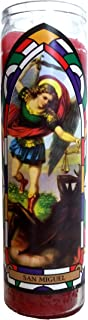 St. Michael (San Miguel) Devotional Red Candle