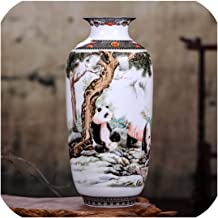 The Hot Rock Ceramic Vase Vintage Chinese Style Animal Vase Fine Smooth Surface Home Decoration Furnishing Articles,2,Australia