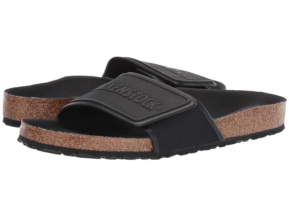 Image of Birkenstock Tema (Black Textile) Men's Sandals