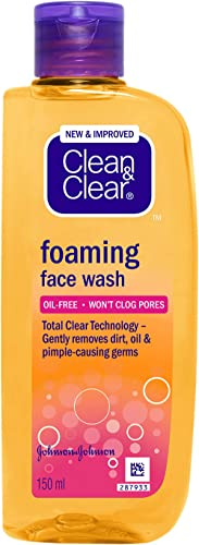 Clean & Clear Foaming Face Wash, 150ml product image