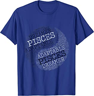 Zodiac Facts: Pisces and Pisces tee for Couples & Singles T-Shirt