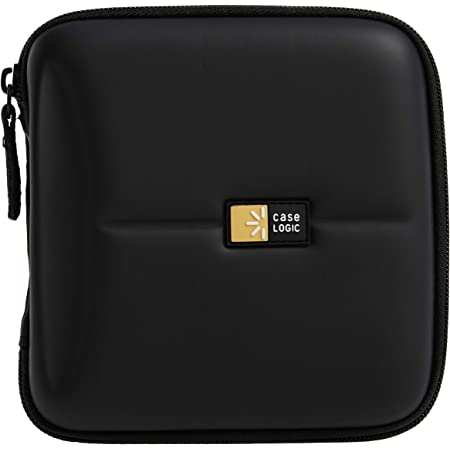 Case Logic CDE-24 24 Capacity Heavy Duty CD Wallet (Black)