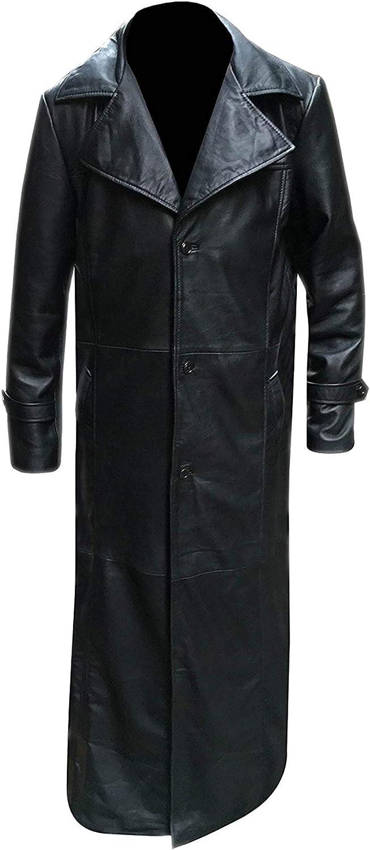 Buffy Trench Coat The Vampire Killer Spike Leather James Marsters Long Coat