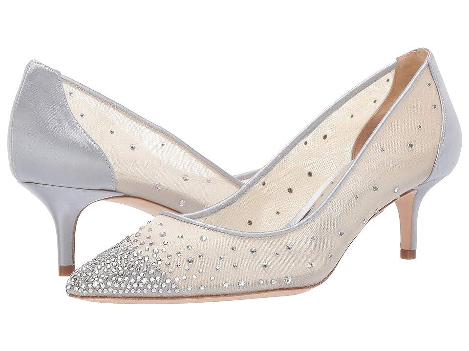 Badgley Mischka Felicity (Silver Glitter/Mesh) Women