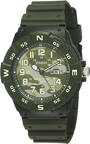 Youth Series Analog Camouflage Dial Men s Watch MRW 220HCM 3BVDF A1718