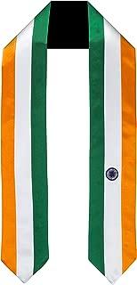 India Flag Graduation Sash/Stole International Study Abroad Adult Unisex