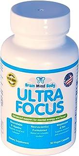 Ultra Focus: Advanced Support for Mental Energy, Focus & Impulsivity: Neuroscientist Formulated Children's Supplement Mult...