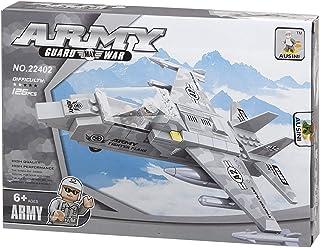 ausini 22402 army aircraft Shaped Building Blocks - 126 Pieces
