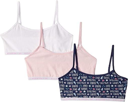 Words Navy/Parfait Pink/White
