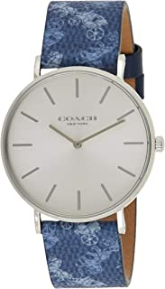 COACH PERRY WOMEN's SILVER WHITE DIAL WATCH - 14503552