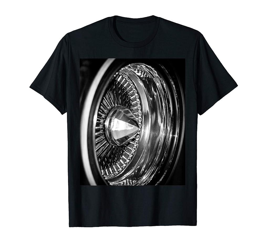 Lowrider Wire Wheel T-Shirt