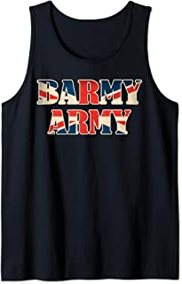 England Cricket T-Shirt 2019 England Barmy Army Tank Top