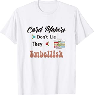 Cardmaking Embellishment Card Making T-shirt for crafter
