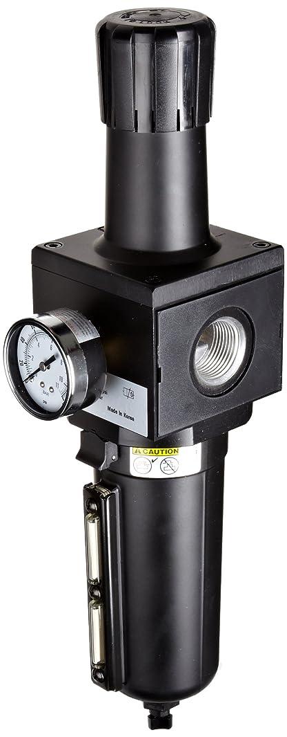 Parker P3NEA98GSMBNG One-Unit Combo Compressed Air Filter/Regulator, 1