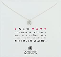 Dogeared - New Mom, Heart Token Necklace
