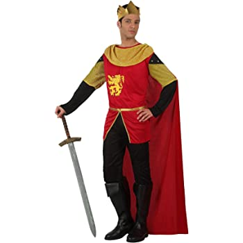dressforfun Disfraz de Rey para Hombre | Incl. Capa + Botas y ...