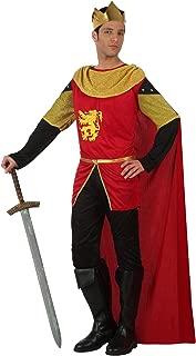 Atosa - Disfraz de rey para hombre, talla M (8422259101383)