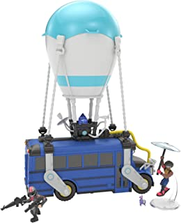 Fortnite Battle Royale Collection Battle Bus & 2 Exclusive Figures: Funk Ops & Burnout