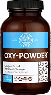 Global Healing Center Oxy-Powder Oxygen Based Safe and Natural Colon Cleanser and Relief from Occasional Constipation (120...
