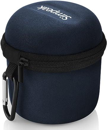 Mini Altoparlante Bluetooth Wireless Speaker Caso Borsa (Senza Casse Custodia Compatible per Anker SoundCore Altoparlante Buetooth/Rokono (B10) Bass/August MS425 Bluetooth Altoparlante Portatile,Blu - Trova i prezzi più bassi