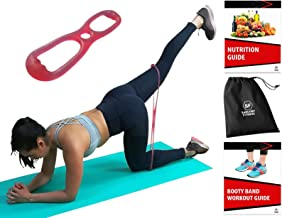 Sargoby Fitness Easy to use Booty Exercise Band | Sculpt & Tone Your Bum Thighs with Brazilian Butt Lift Resistance Band | The Booty Band for Women comes with Workout eBook with Pictures & Exercise Lo