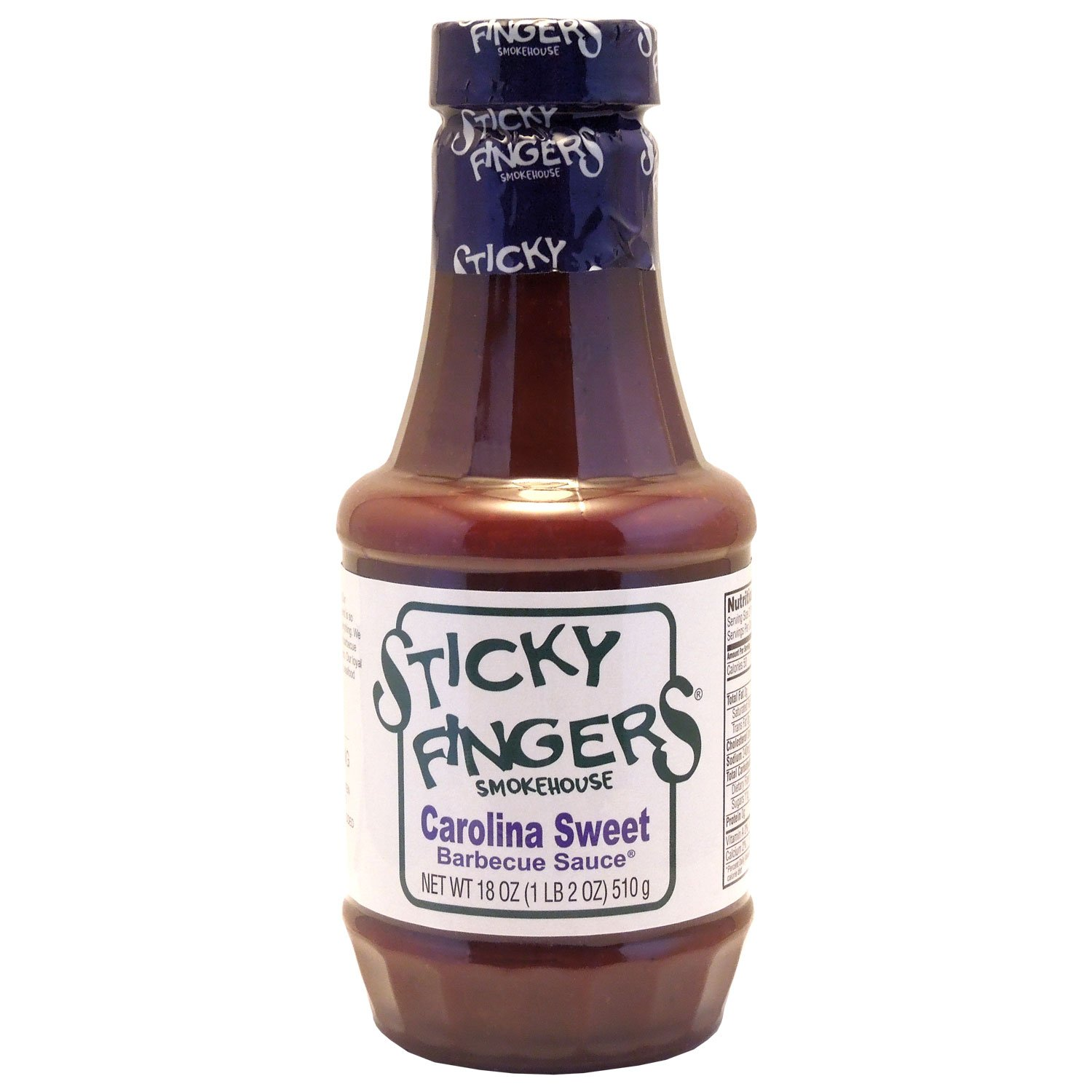 Sticky Large-scale sale Fingers Ranking TOP4 Carolina Sweet Barbecue Sauce c 18 Ounce - 6 per