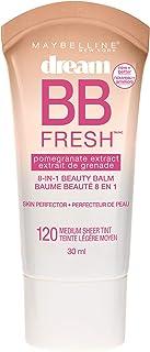 Maybelline New York Makeup Dream Fresh BB Cream, Medium Skintones, BB Cream Face Makeup, 1 fl oz