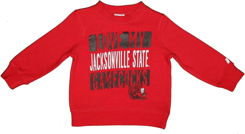 RussellApparel NCAA Love My Team Toddlers Crew Neck Fleece