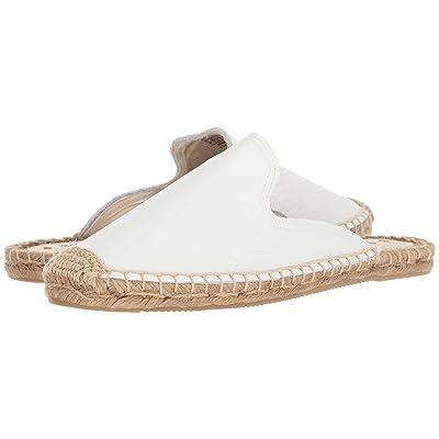 Soludos Tumbled Leather Mule (White) Women