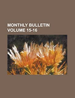 Monthly Bulletin. (V.3 1895-96)