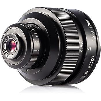 Zhongyi 20mm f / 2 4.5X Objetivo Lente Super Macro para cámara ...