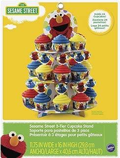 Wilton 1512-3470 Sesame Street Cupcake Tower, Multicolor