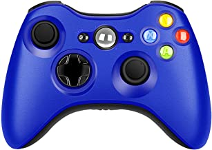 $29 » Wireless Controller for Xbox 360, 2.4GHZ Game Remote Controller Joystick Gamepad for Xbox 360 Console, PC Windows 7,8,10 (Blue)
