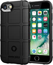 LABILUS iPhone 8 case, iPhone 7 case, (Rugged Shield Series) TPU Thick Solid Armor Tactical Protective Cover Case for iPhone 8 (2017), iPhone 7 (2016) - Dark Black