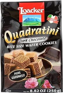 Loacker Dark Chocolate Wafer Cookies - 8.82 oz